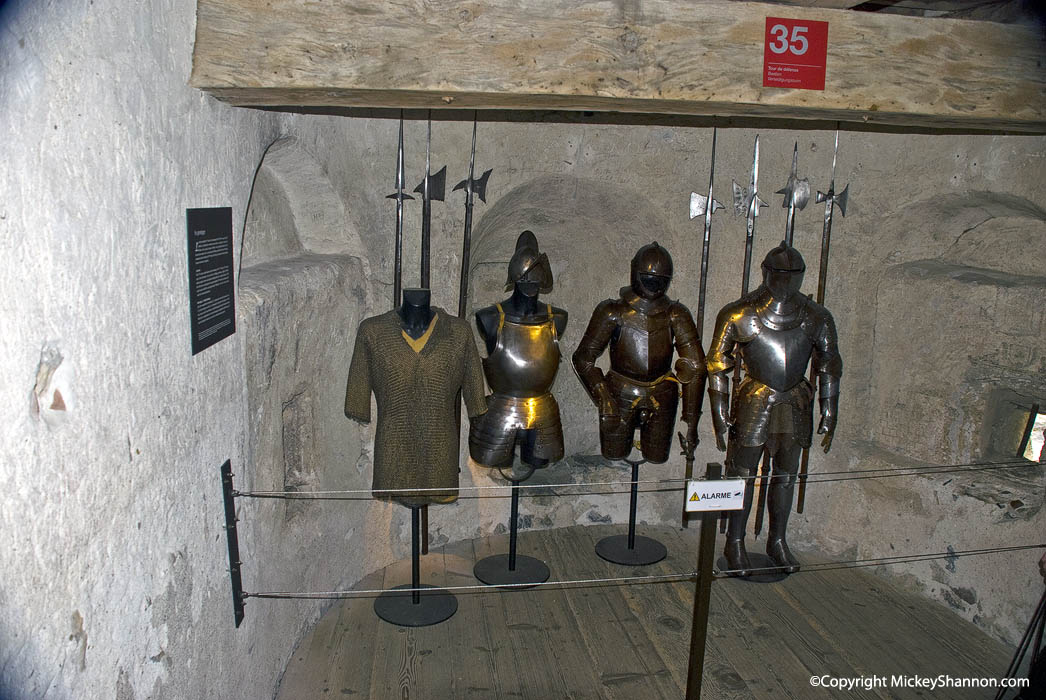 Chateau de Chillon Armory