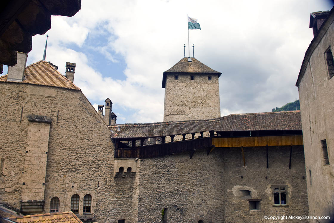Chateau de Chillon Tower