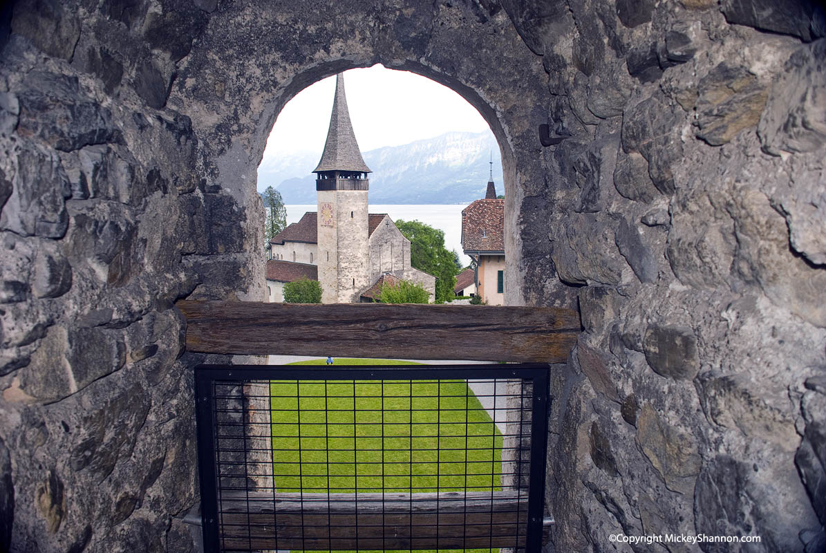 Spiez Castle Window