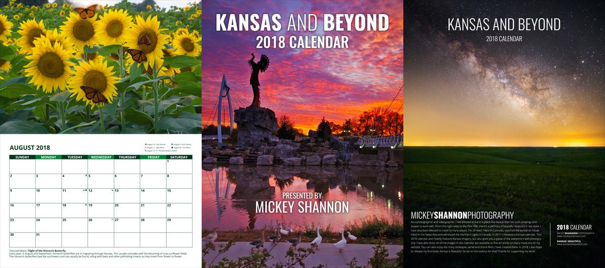 2018 Kansas and Beyond Calendar