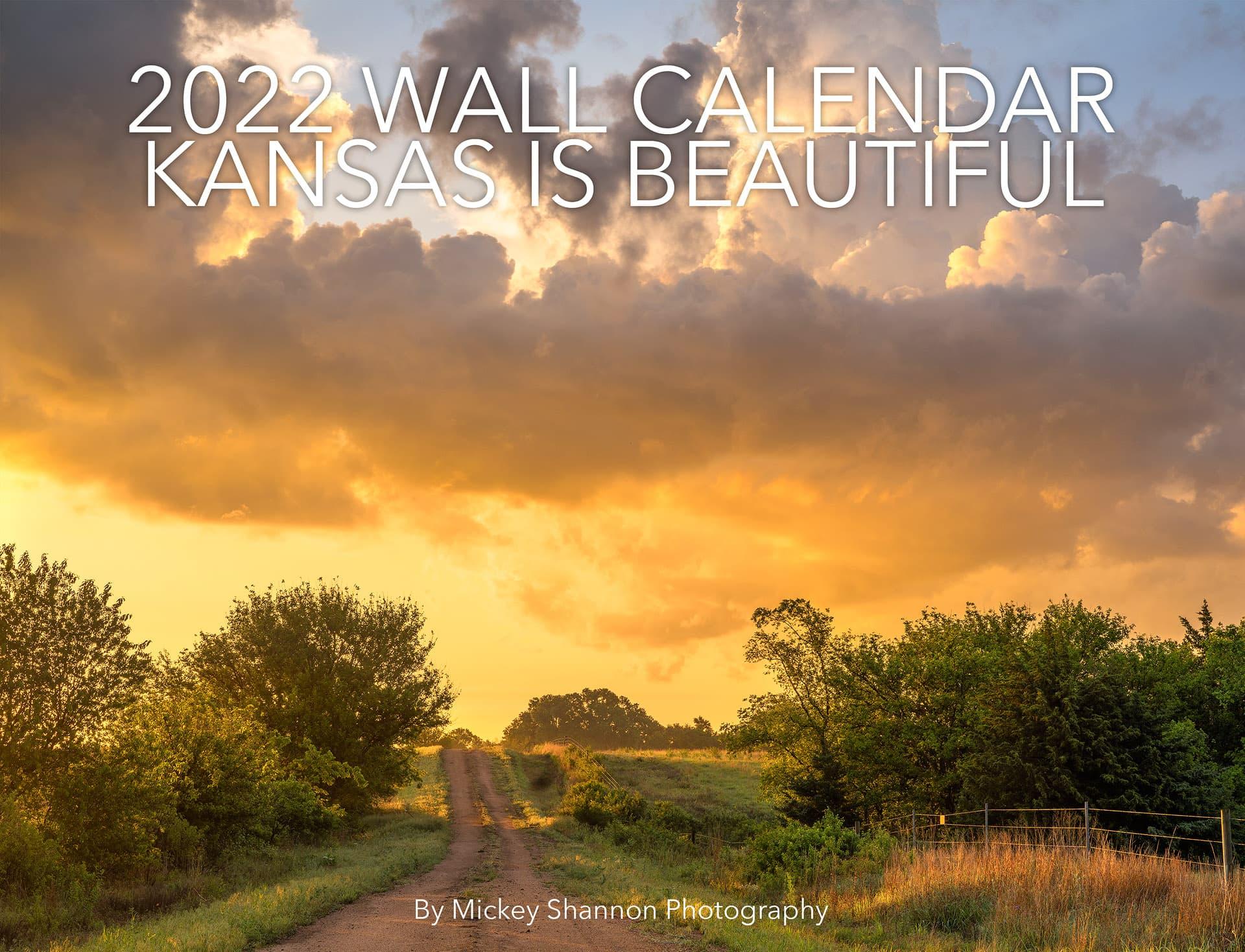 2021 Images of the Flint Hills of Kansas Wall Calendars