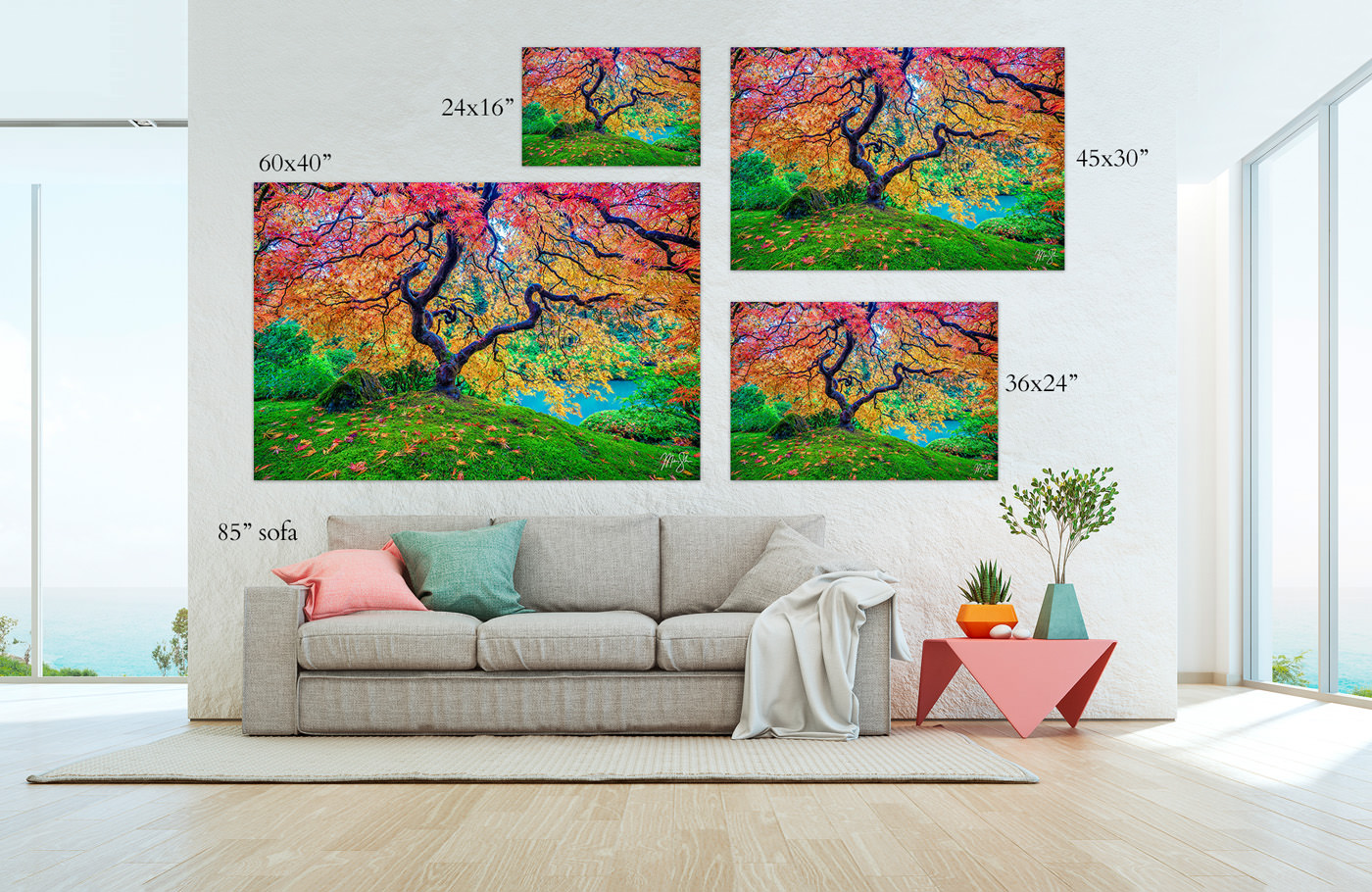 Fine Art Nature Photography Prints Sizing
