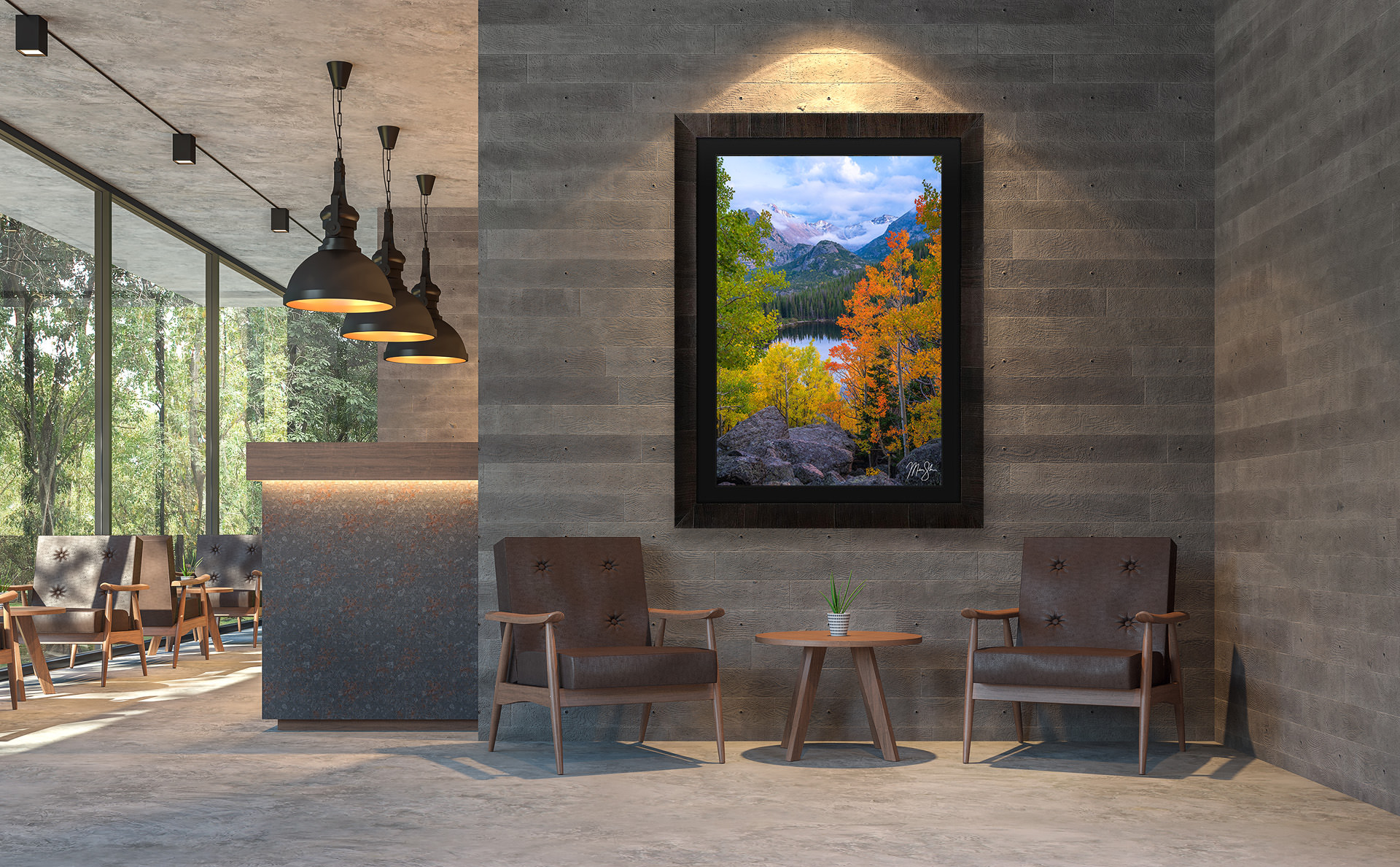 Luxury Living Room Interior Design Fine Art