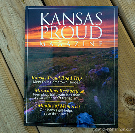 Kansas Proud Magazine Cover