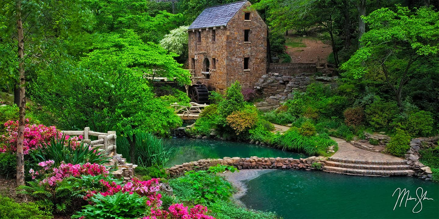 Arkansas Photography: Little Rock Old Mill