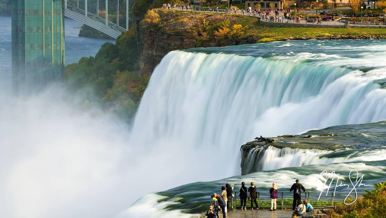 Autumn at American Falls - Niagara Falls, NY