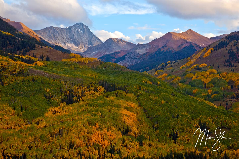 Autumn at Capitol Peak - Capitol Peak, Elk Mountains, Colorado