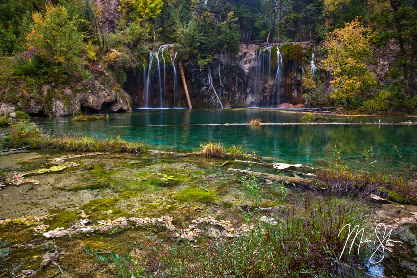 Autumn at Hanging Lake