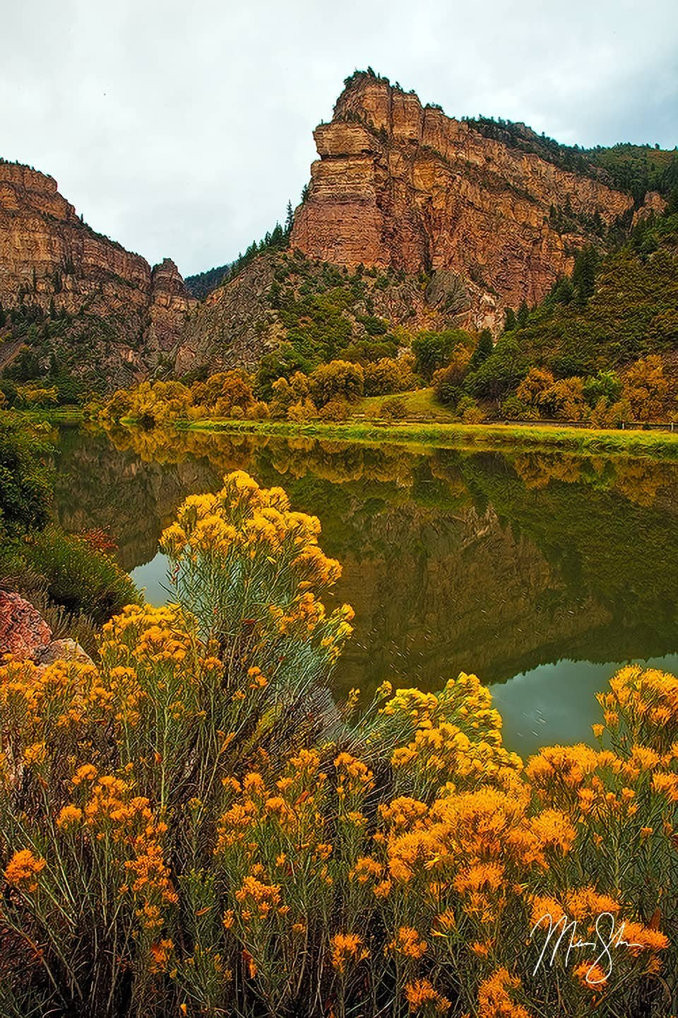 Autumn in Glenwood Canyon