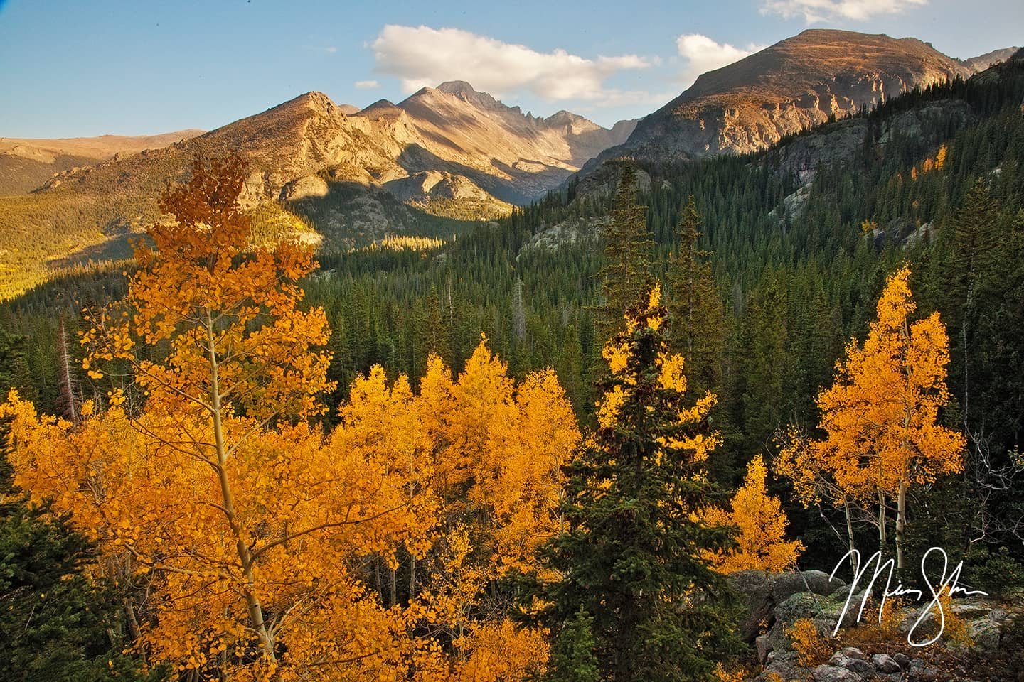 Autumn View of Longs Peak