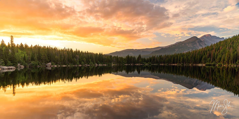 Bear Lake Sunrise Special - Bear Lake, Rocky Mountain National Park, Colorado