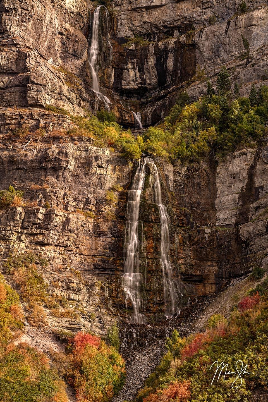 Beautiful Bridal Veil Falls - Bridal Veil Falls, Provo Canyon, Utah