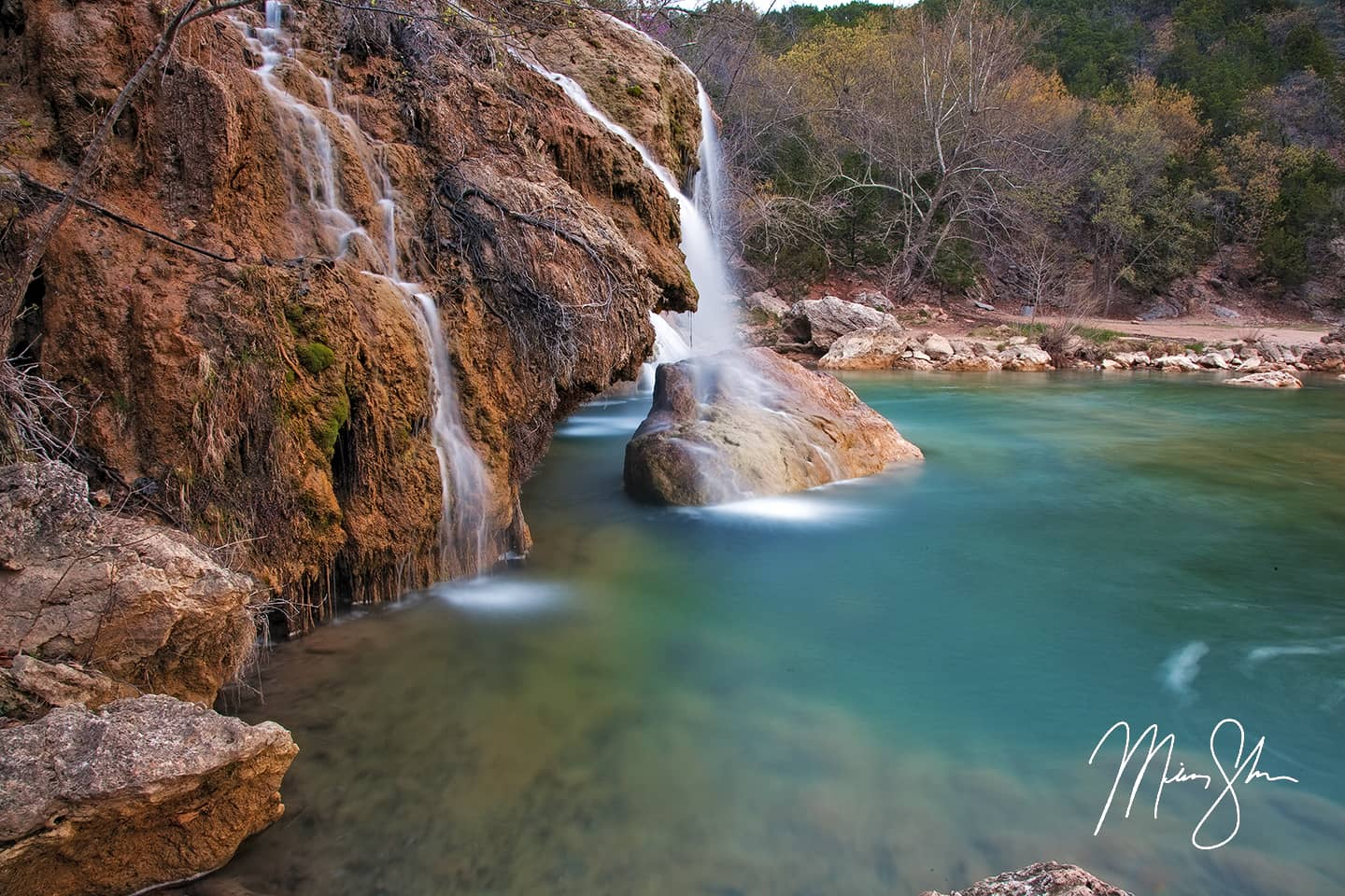 Beautiful Turner Falls - Turner Falls, Arbuckle Wilderness, Davis, Oklahoma