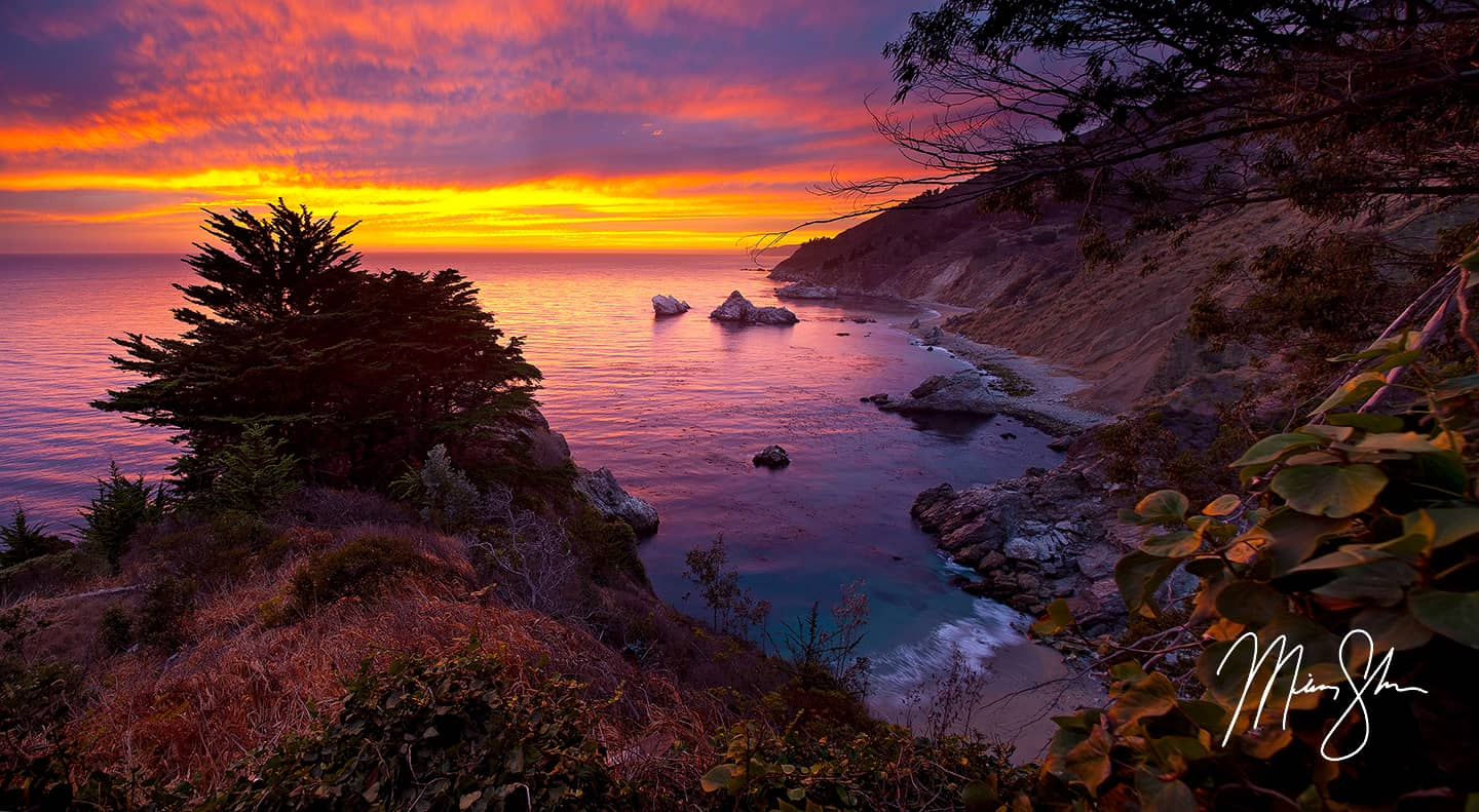 Big Sur Sunset - Big Sur, California