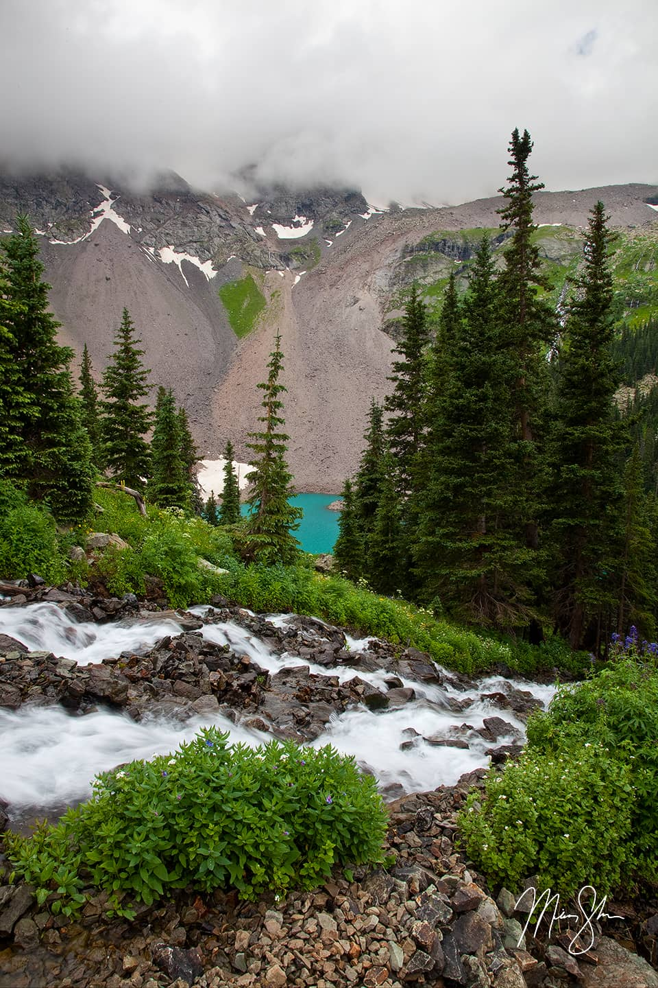 Blue Lake Cascades