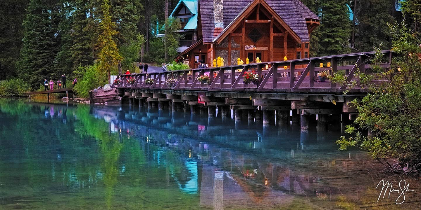 British Columbia Photography: Emerald Lake in the morning