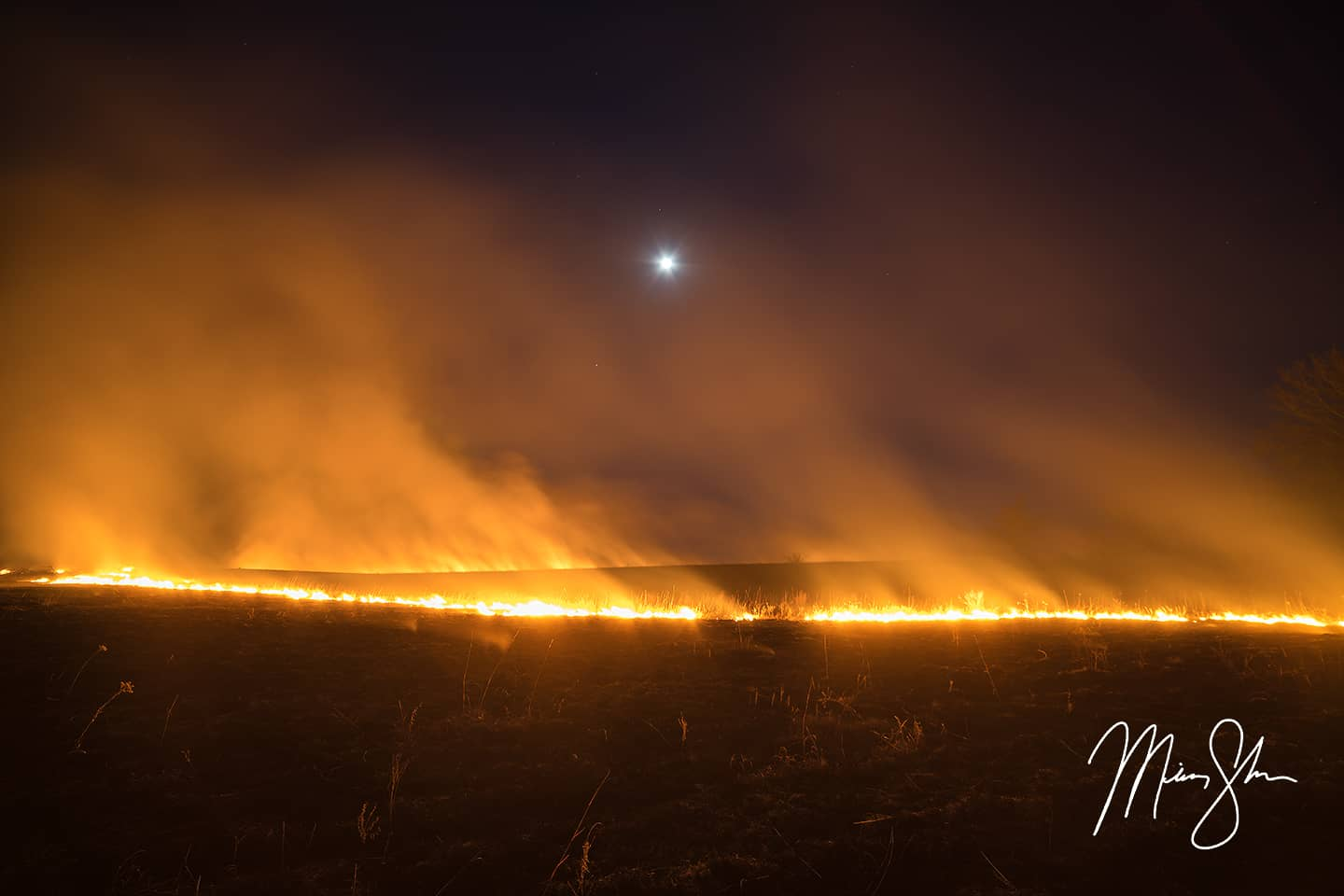 Burning of the Flint Hills