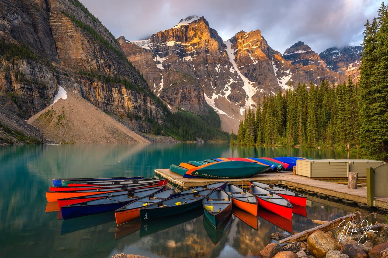 Classic Canada - Moraine Lake, Banff National Park, Alberta, Canada