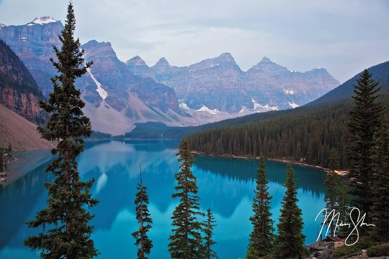 Classic Moraine Lake