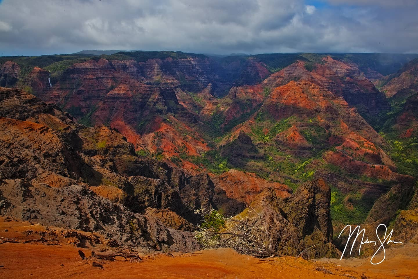 Colorful Waimea Canyon - Waimea Canyon, Kauai, Hawaii