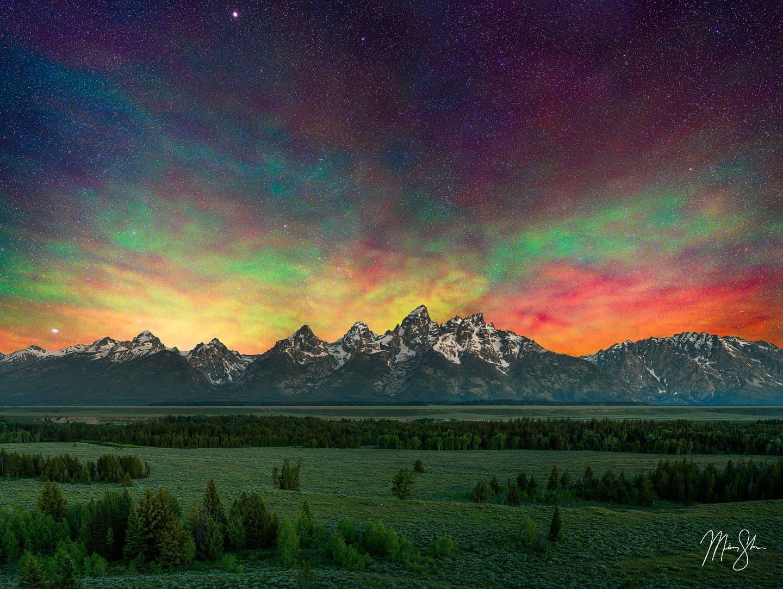 Cosmic Grand Teton