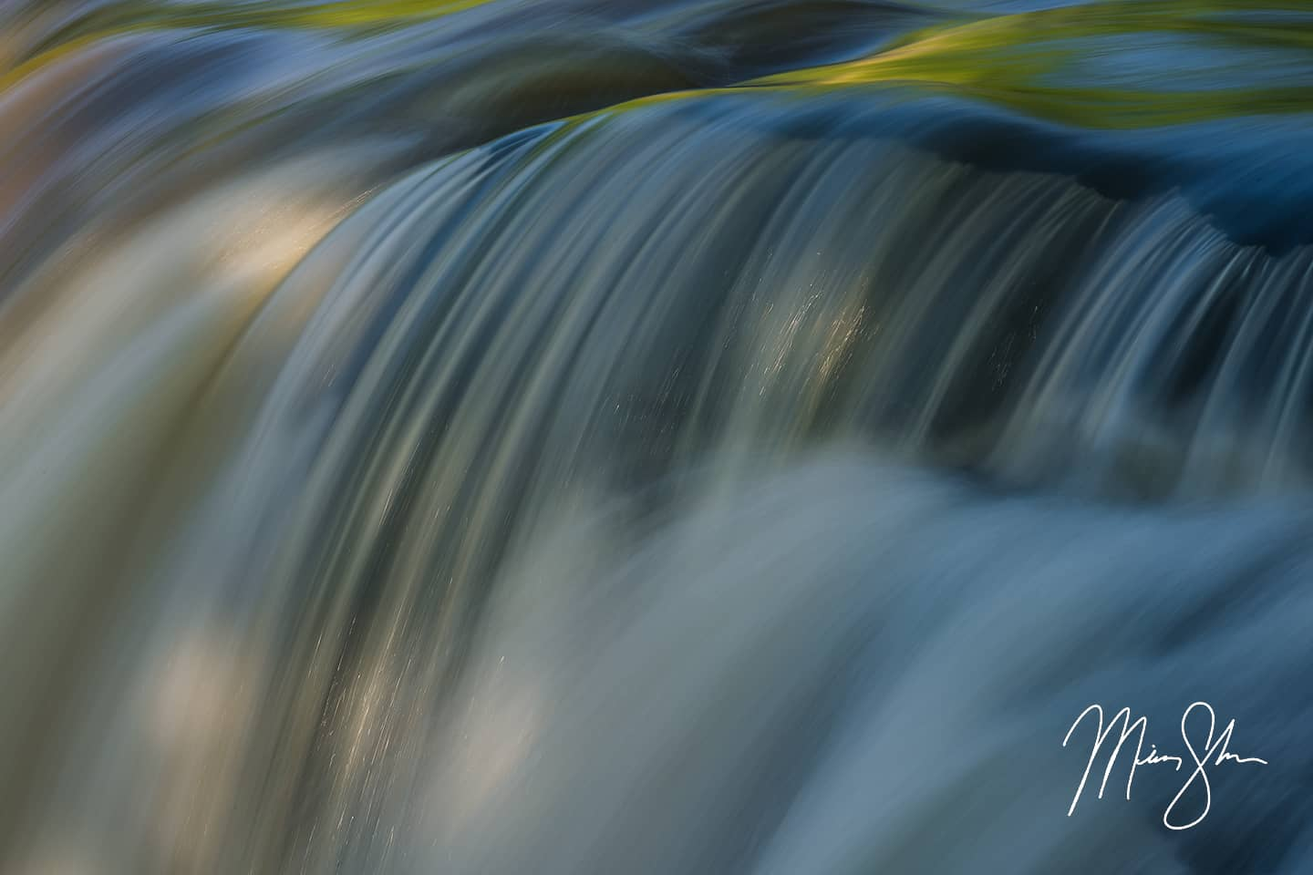 Open edition fine art print of Curves of Elk Falls from Mickey Shannon Photography. Location: Elk Falls, Kansas