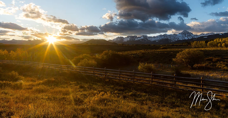 Dallas Divide Sunrise - Dallas Divide, Ridgway, Colorado