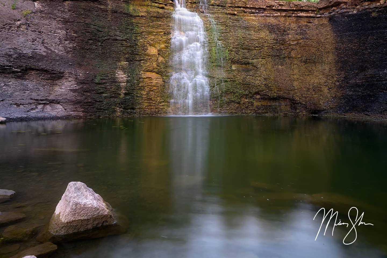 Dreamy Bourbon Falls - Elsmore, KS