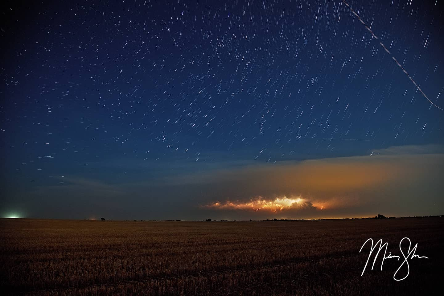 Open edition fine art print of Elementals from Mickey Shannon Photography. Location: Near Harper, Kansas, USA