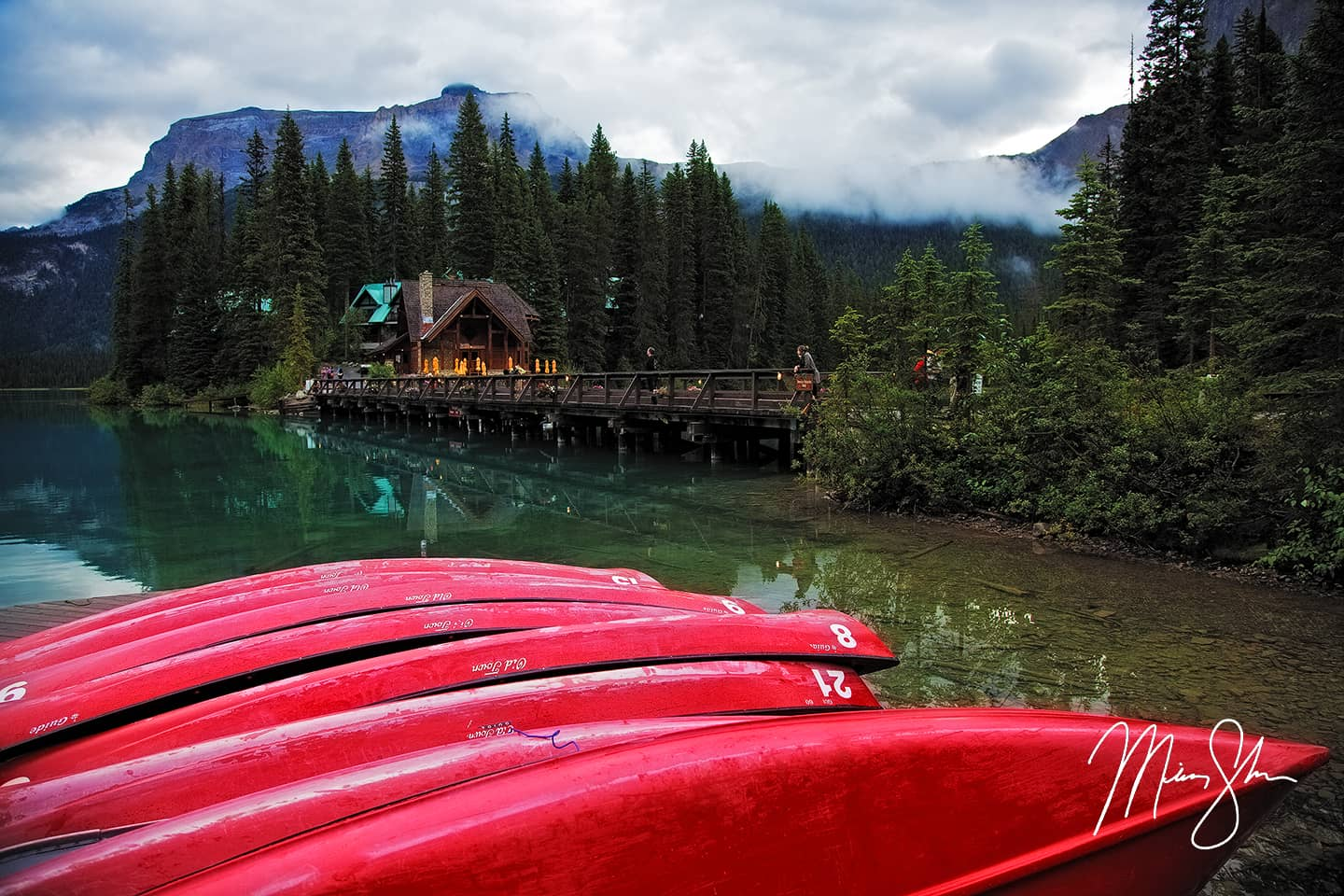 Emerald Lake Canoes