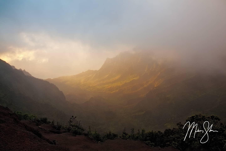 Ethereal Kalalau Valley Sunset
