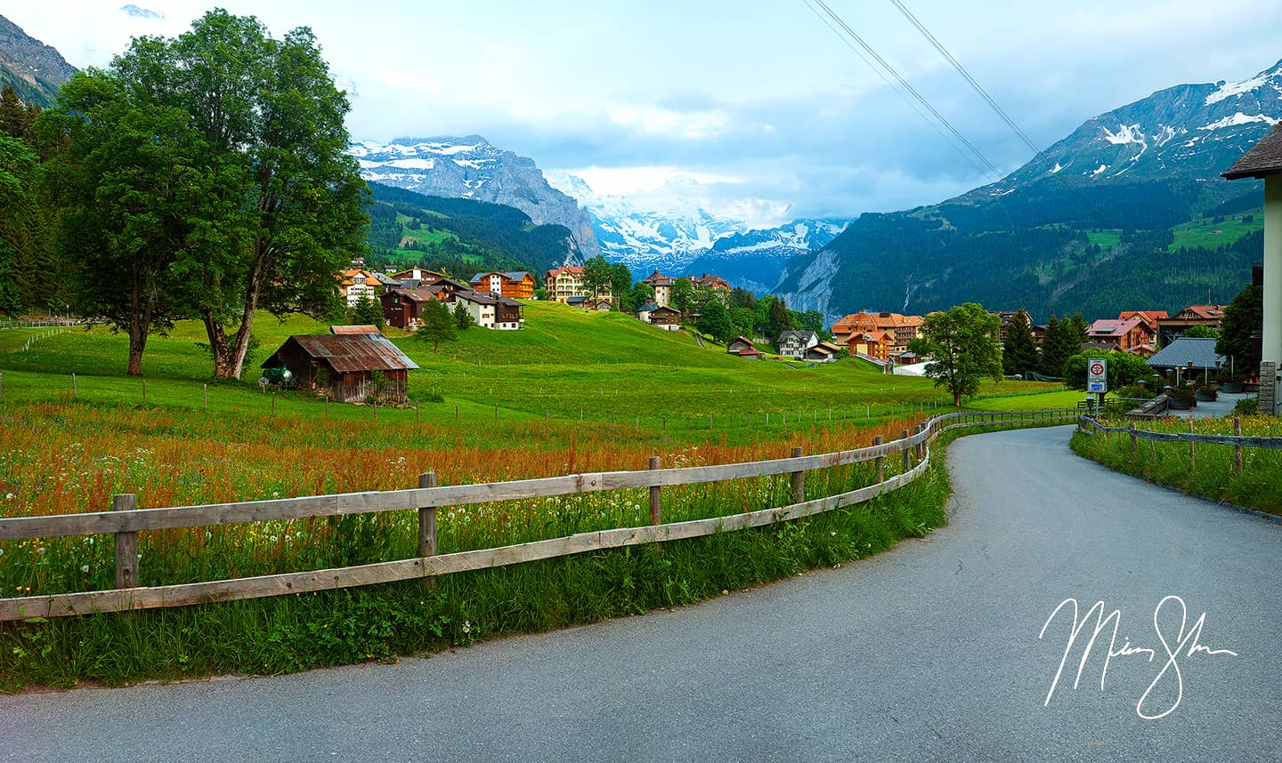 Fields Of Wengen - Wengen, Bernese Alps, Switzerland
