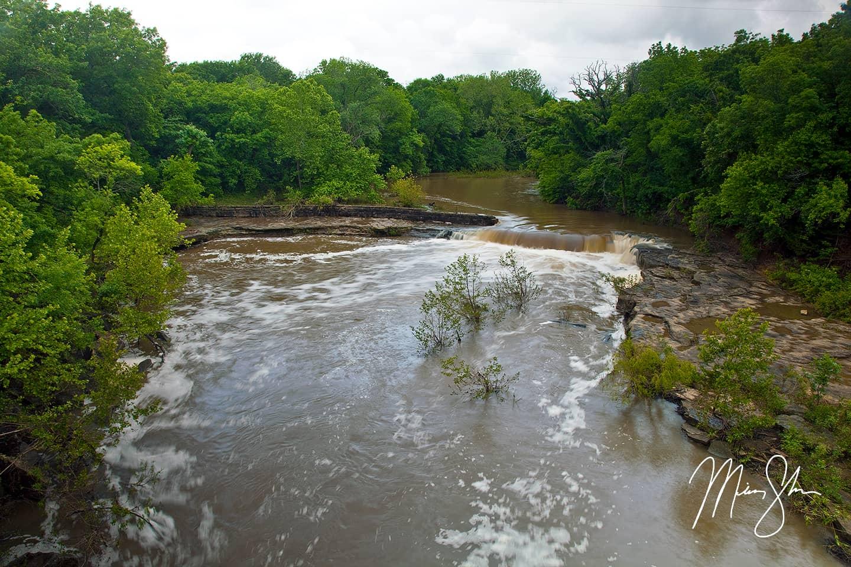 Flooded Elk Falls