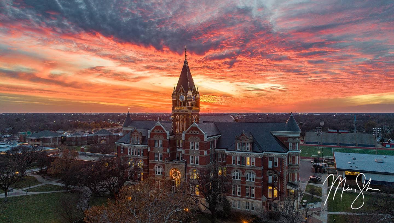 Friends University Sunset Lights - Friends University, Wichita, KS