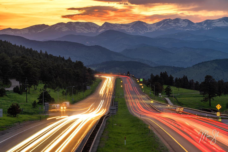 Gateway to the Colorado Rockies - Golden, Colorado