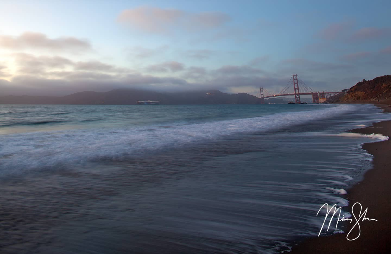 Golden Gate Bridge Sunset - San Francisco, California