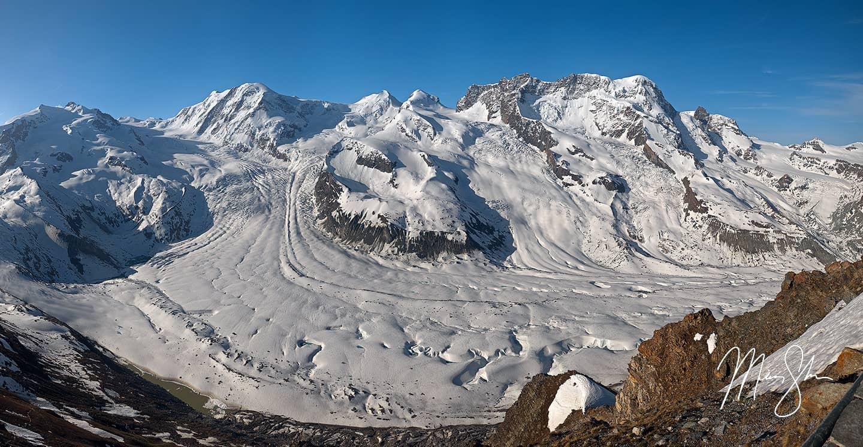 Gorner Glacier - Gornergrat, Zermatt, Switzerland