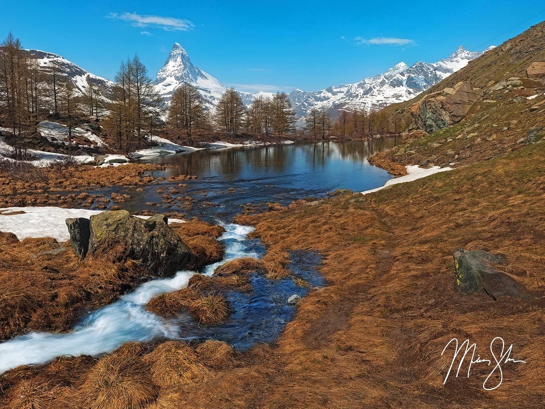 Grindjisee - Grunjsee, Zermatt, Switzerland