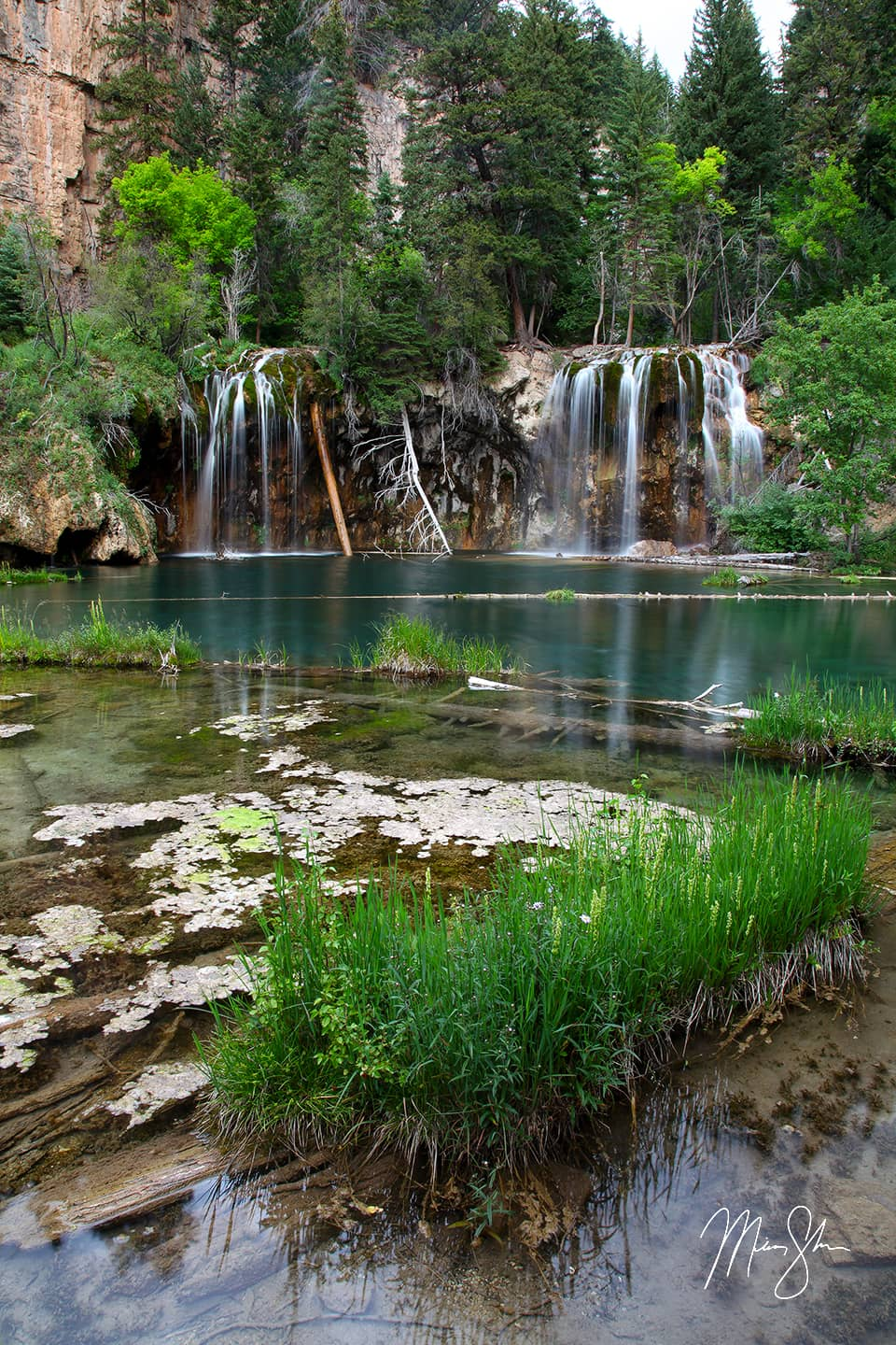 Hanging Lake In The Summer - Glendwood Springs, Colorado