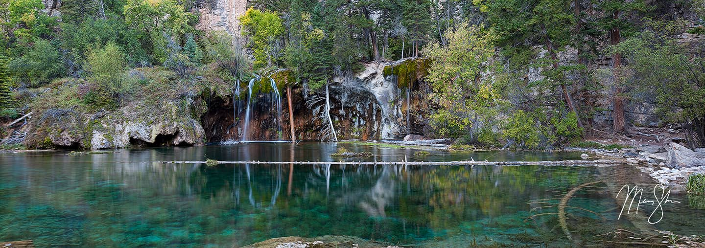 Hanging Lake Panorama - Glenwood Springs, Colorado