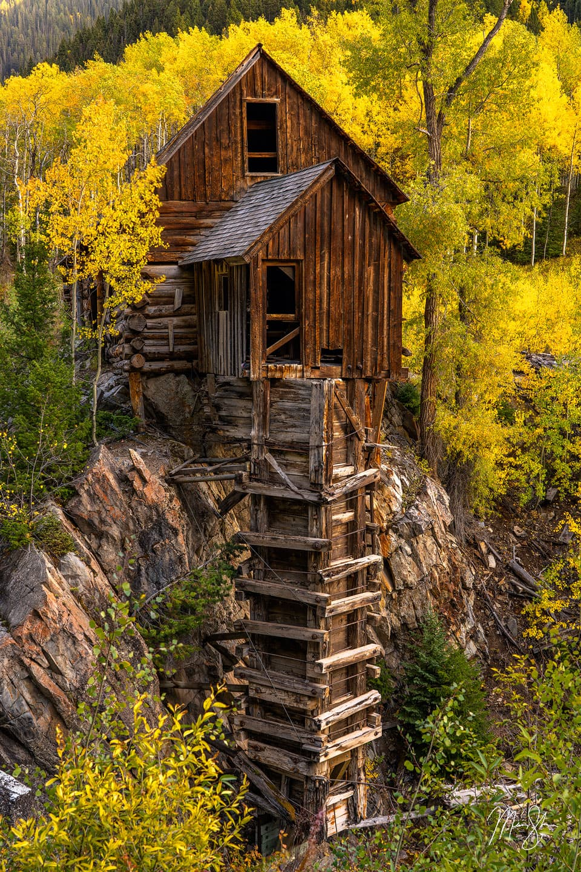 Historic Crystal Mill - Crystal Mill, Crystal, Colorado