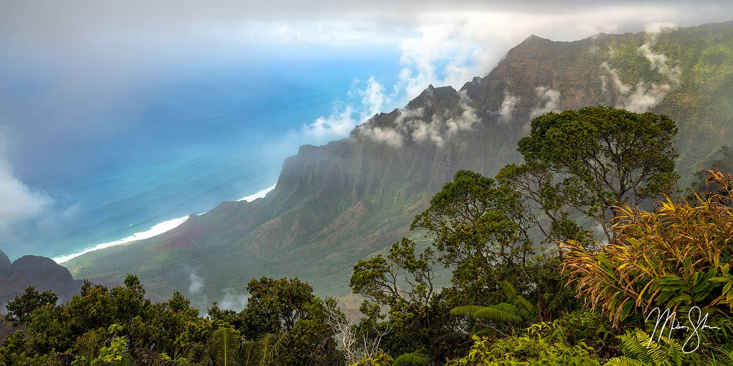 Jurassic Valley - Kalalau Lookout, Kauai, Hawaii