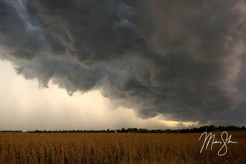 Kansas Autumn Storms - Near Wichita, Kansas