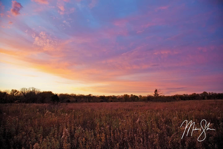 Kansas Autumn Sunset