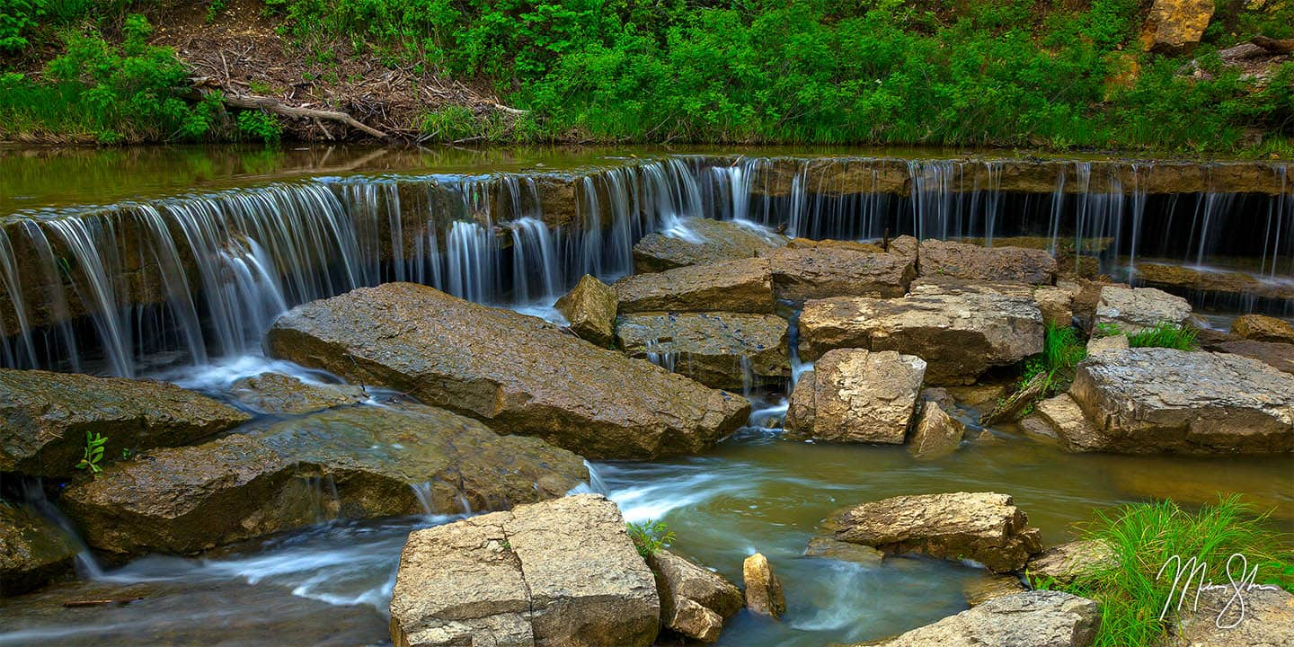 Photos of Kansas Waterfalls