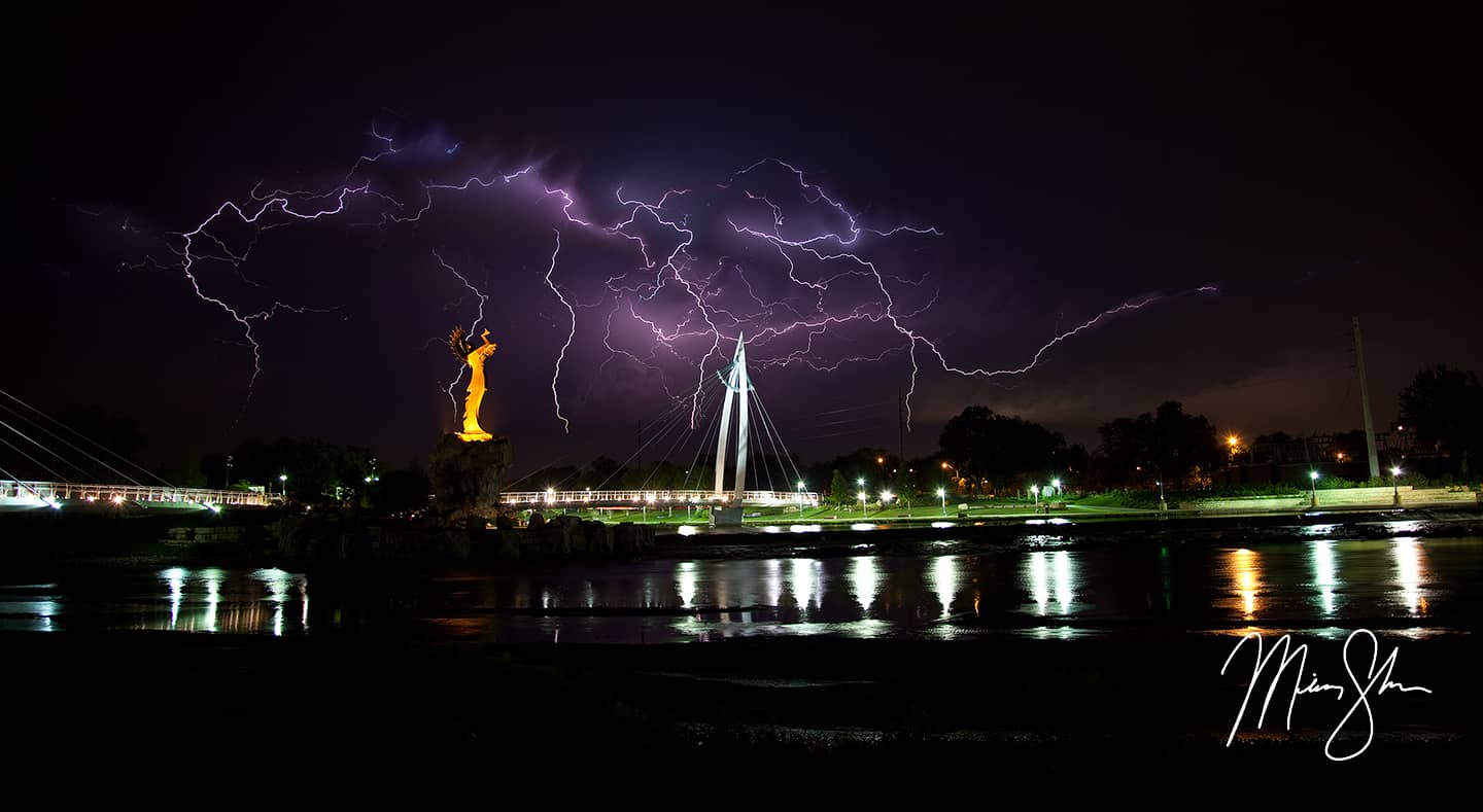 Keeper of the Plains Lightning Apocalypse