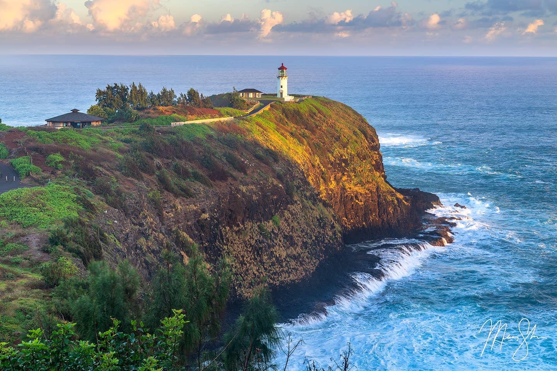 Kilauea Lighthouse Sunrise - Kilauea Lighthouse, Kauai, Hawaii