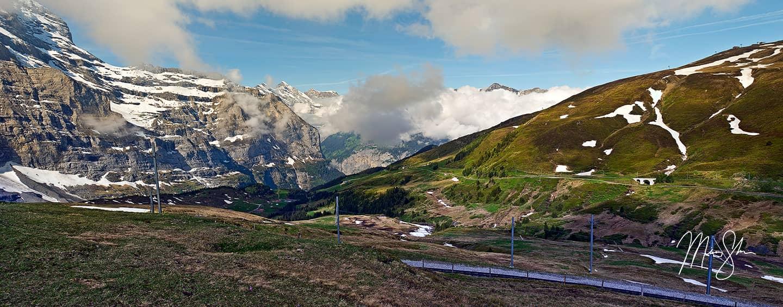Kleine Scheidegg View - Kleine Scheidegg, Switzerland