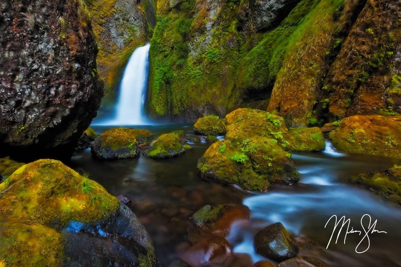 Late Summer at Wahclella Falls