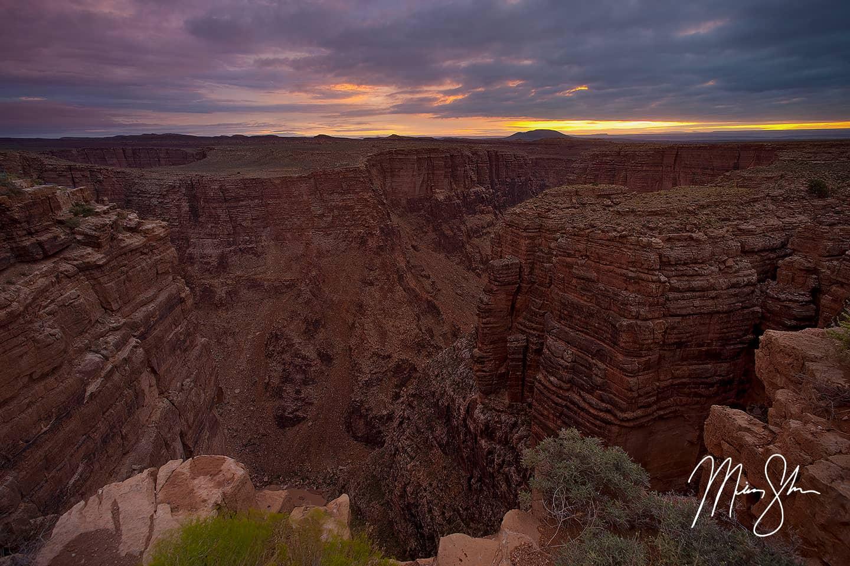 Little Colorado River Canyon Sunrise - Grand Canyon, Arizona